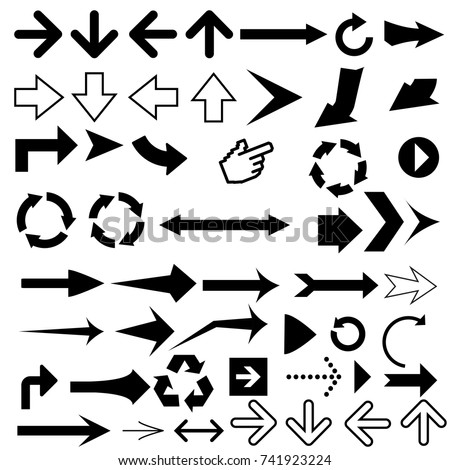 Arrow pointers vectors