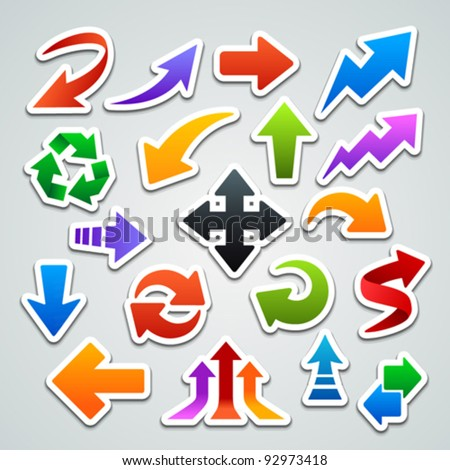 arrow stickers