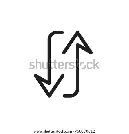 arrow symbol transfer