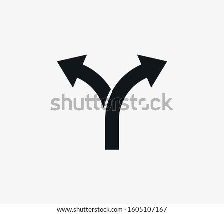 arrow  two way direction icon