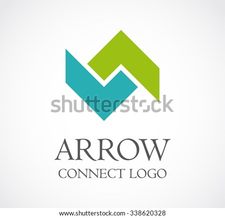 arrow up and down connection