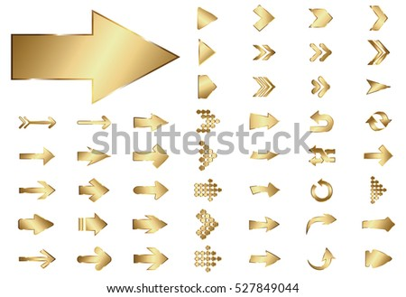 Set Of Gold Buttons Download Gratis Vectorkunst En Andere