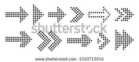 Arrow vector pointer. Arrow vector icon pointer. Arrow pointer next vector.