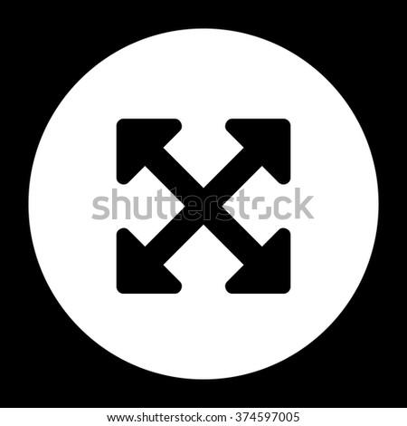 arrows alt navigation button