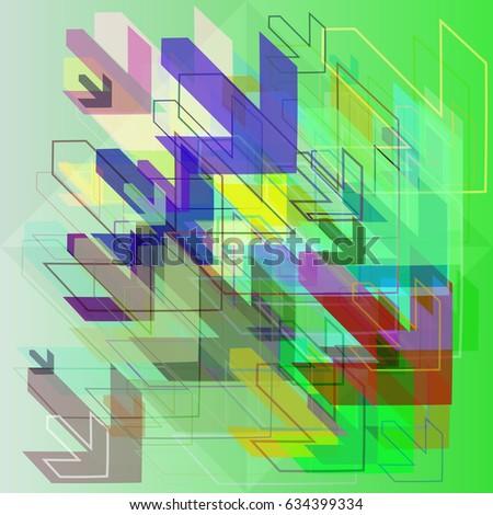 arrows art elements