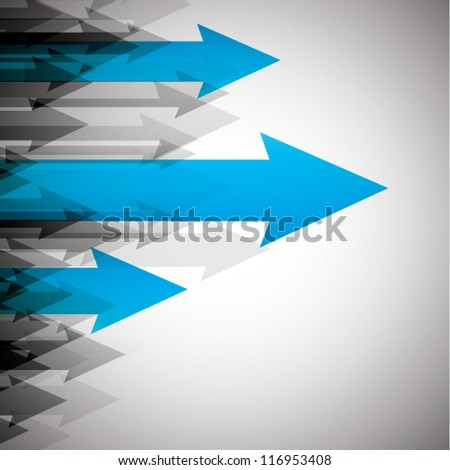 Arrows background for business concept vector eps10