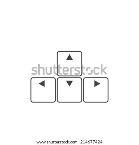 arrows buttons keyboard