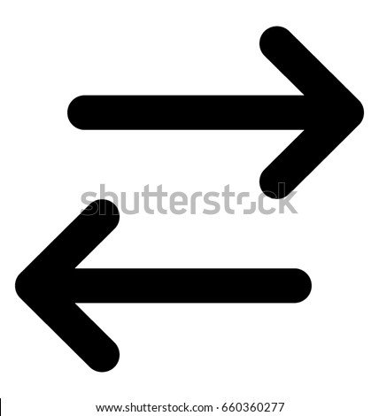 Arrows Line Vector Icon