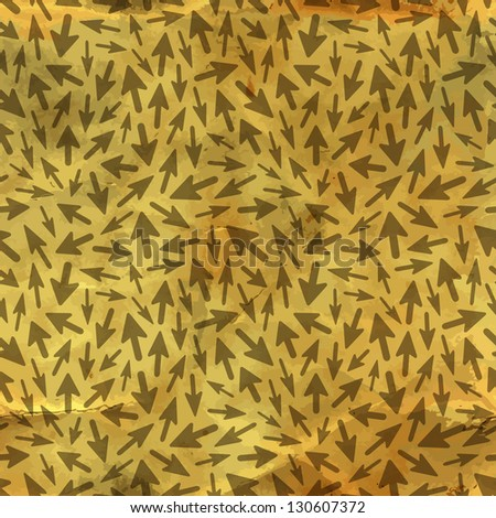 Arrows. Seamless pattern. Vector illustration.