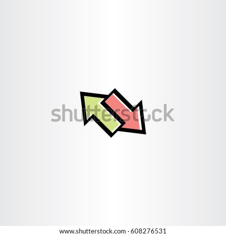 arrows symbol sign element