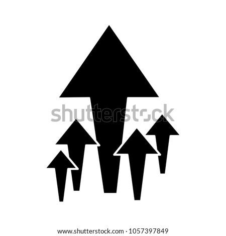 arrows up icon
