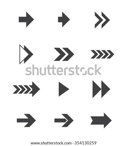 Arrows Vector Icons