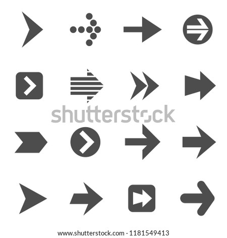 arrows vector icons for your creative ideas #1181549413