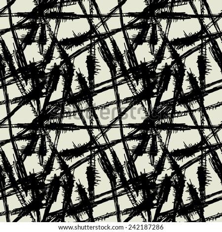 art black graphic geometric