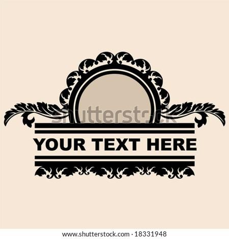 Art Deco Design Stock Vector Illustration 18331948 Shutterstock