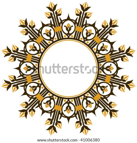 stock vector : Art deco design