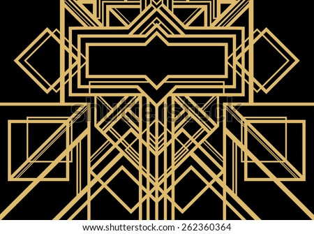 Free Art Deco Geometric Vector Patterns - Download Free Vector Art ...