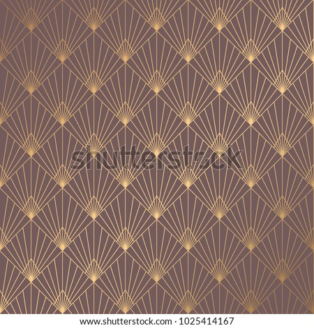 art deco pattern seamless