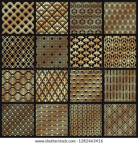 art deco patterns decorative