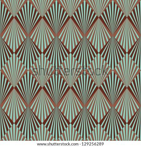 Shutterstock Art Deco style seamless pattern texture
