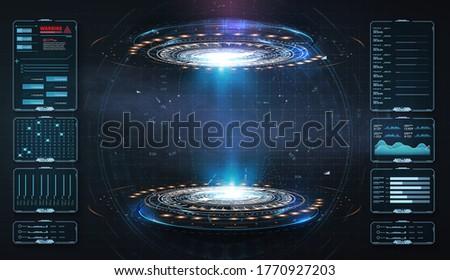 art design hologram  portals