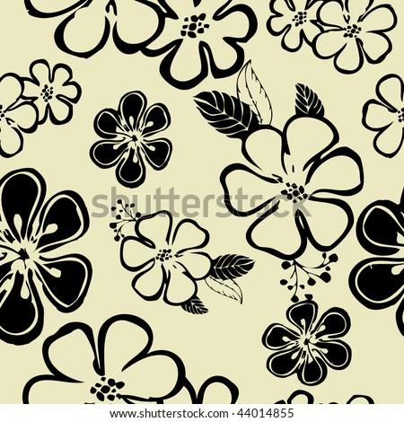 vector art backgrounds. stock vector : art floral