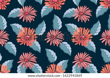 art floral vector seamless