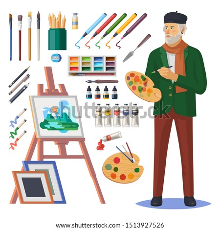 art frenchman or artist man
