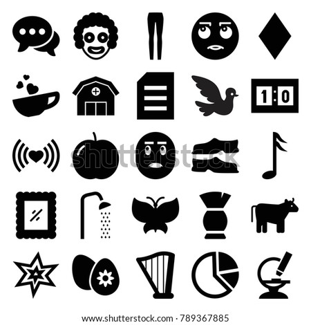 art icons set of 25 editable