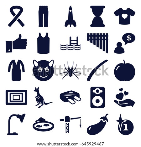 art icons set set of 25 art