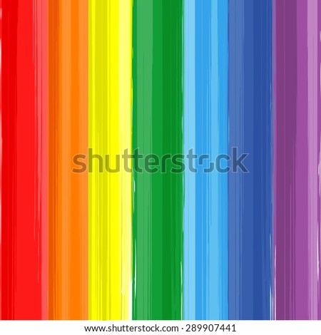 art rainbow color paint splash