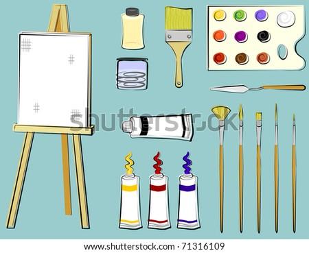 Art Supplies - Painting