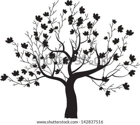 Tree Outlines Download Free Vector Art Stock Graphics Images