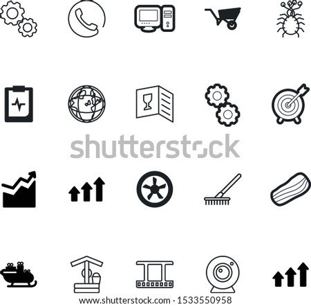art vector icon set such as