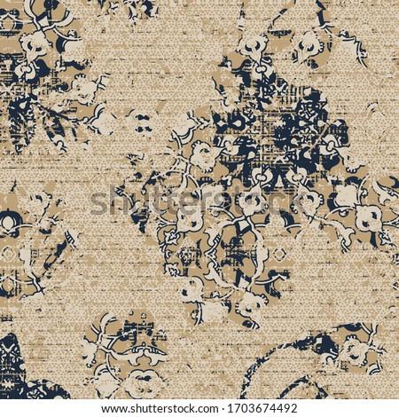 art vintage effect abstract geometric grunge organic fabric textures cover , wall print, wall poster, pillow, rug, carpet, napkin, handkerchief scarf digital print pattern