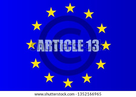 article 13 european for