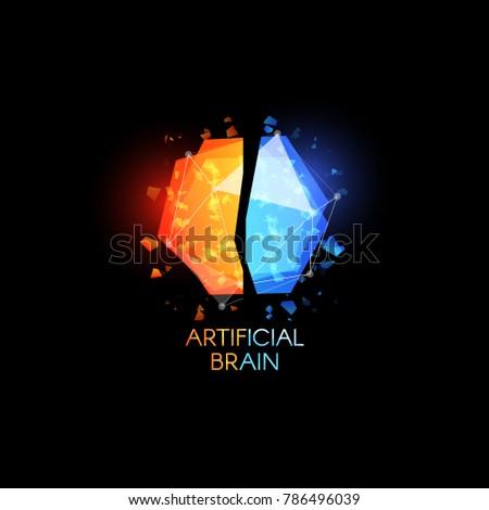 artificial intellect  brain