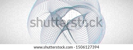 Artificial intelligence. Abstract background. Digital technology, deep learning and big data concept. Tech visual for screen template. Industrial artificial intelligence backdrop.