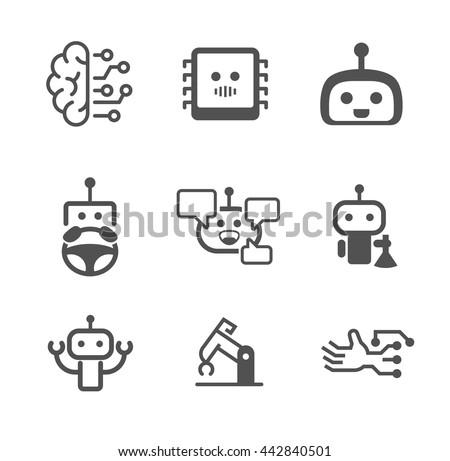 Free Robot Vector Download Free Vector Art Stock Graphics Images
