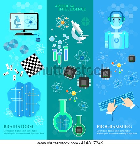 artificial intelligence banners