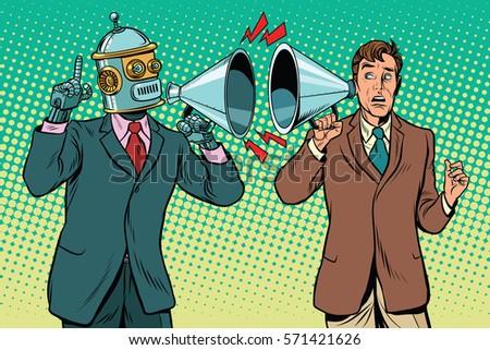 artificial intelligence robot...