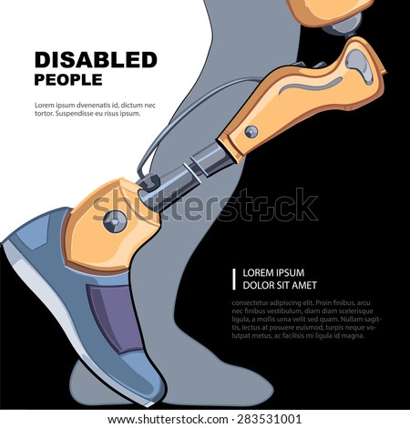 artificial limb for the right