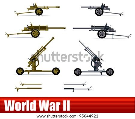 artillery  in vector ww2
