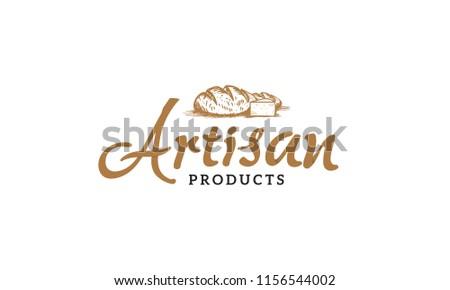 Artisan products logo illustration