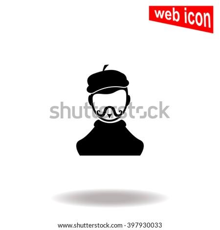 artist icon artist icon vector