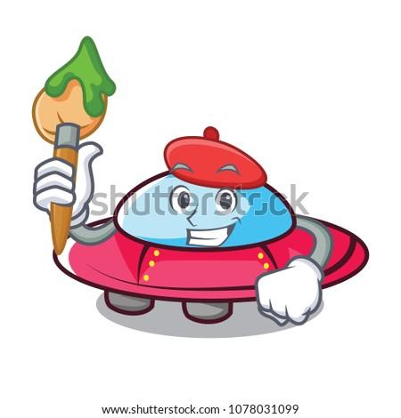 artist ufo character cartoon