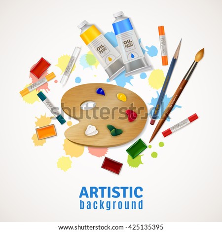 artistic design concept with