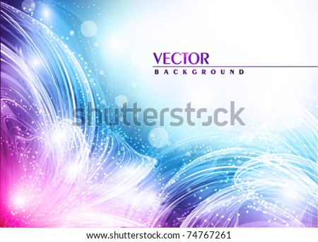 Artistic flowers of your love. Vector