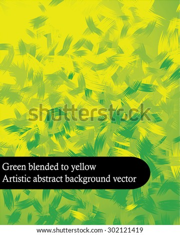 artistic green blended to