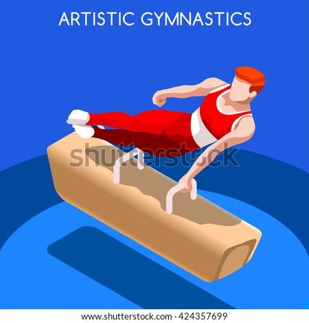 artistic gymnastics pommel